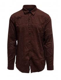 Camicie uomo online: Led Zeppelin X John Varvatos camicia rossa argilla