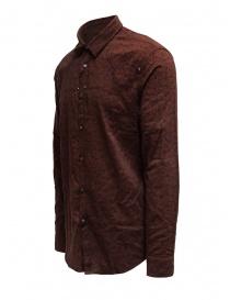 Led Zeppelin X John Varvatos camicia rossa argilla