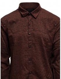 Led Zeppelin X John Varvatos camicia rossa argilla camicie uomo acquista online