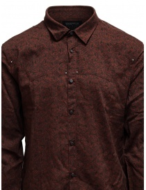 Led Zeppelin X John Varvatos clay red shirt mens shirts buy online