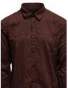 Led Zeppelin X John Varvatos camicia rossa argilla LZ-W676V4 72KX RED 618 acquista online