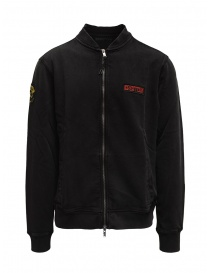 Mens knitwear online: Led Zeppelin X John Varvatos sweatshirt with zip