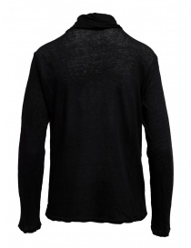 Plantation black cotton turtleneck