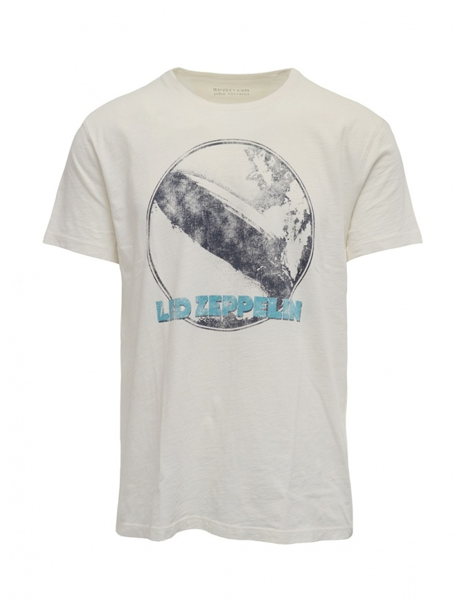 Led Zeppelin X John Varvatos airship T-shirt LZ-KGR4787V4B AVG3B SALT 103 mens t shirts online shopping