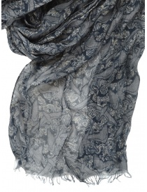 Led Zeppelin X John Varvatos gray scarf