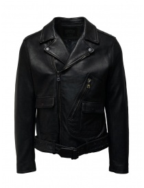 Led Zeppelin X John Varvatos leather jacket LZ-L1274V4 Y1027 BLACK 001