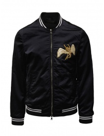 Led Zeppelin X John Varvatos black bomber jacket online