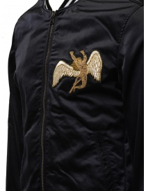 Led Zeppelin X John Varvatos black bomber jacket price