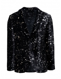 Mens suit jackets online: Led Zeppelin X John Varvatos velvet blazer