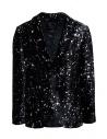 Led Zeppelin X John Varvatos blazer in velluto acquista online LZ-JVSO1876V4 BRDB BLACK 001