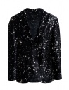 Led Zeppelin X John Varvatos velvet blazer buy online LZ-JVSO1876V4 BRDB BLACK 001