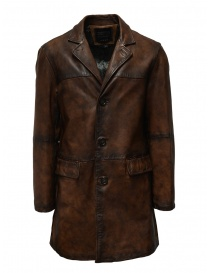 Led Zeppelin X John Varvatos cappotto in pelle online