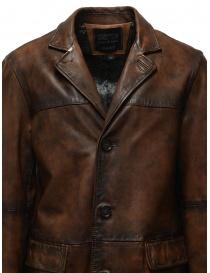Led Zeppelin X John Varvatos cappotto in pelle prezzo