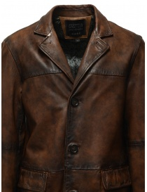 Led Zeppelin X John Varvatos leather coat price