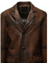 Led Zeppelin X John Varvatos leather coat LZ-L1273V4 Y1463 ESPRESSO 202 price