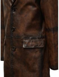 Led Zeppelin X John Varvatos cappotto in pelle cappotti uomo acquista online
