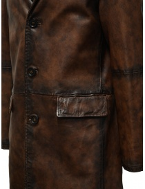 Led Zeppelin X John Varvatos leather coat mens coats buy online