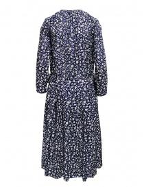 Sara Lanzi long-sleeved snake patterned blue dress price