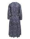 Sara Lanzi long-sleeved snake patterned blue dress 01MCSW81 SNAKE BLUE price
