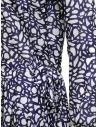 Sara Lanzi long-sleeved snake patterned blue dress 01MCSW81 SNAKE BLUE buy online