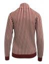 Sara Lanzi red and white striped turtleneck shop online womens knitwear
