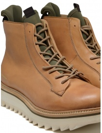 BePositive Master MD boot in beige leather mens shoes buy online