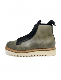 BePositive Master MD boot in army green leather