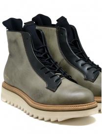 BePositive stivale Master MD in pelle verde militare calzature uomo acquista online