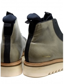 BePositive Master MD boot in army green leather mens shoes price