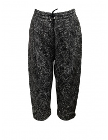 Yasmin Naqvi diamond jogging pants YNP04 PANTALONE BLACK