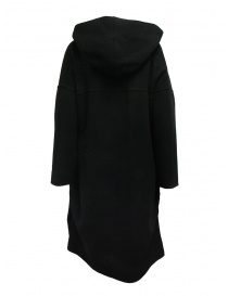 Plantation blue-black reversible poncho coat buy online price