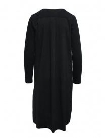 European Culture abito nero in felpa e cotone