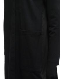 European Culture black fleece and cotton dress price