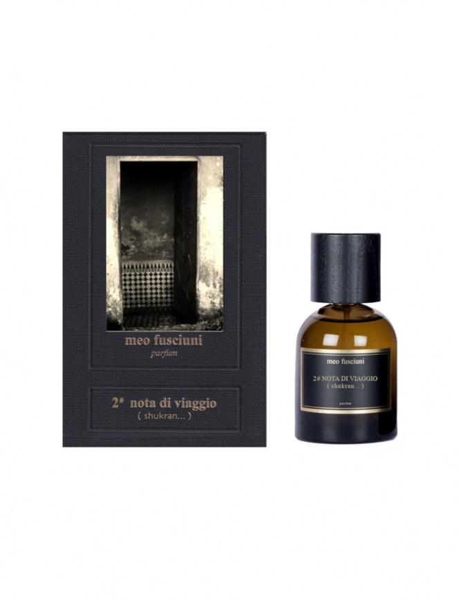 Meo Fusciuni 2 nota di viaggio (shukran) perfume 2NOTA DI VIAGGIO EDP perfumes online shopping