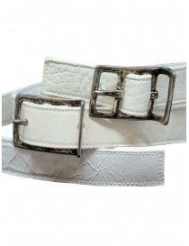 Carol Christian Poell double white belt price