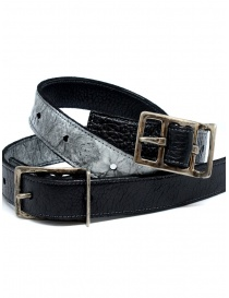 Carol Christian Poell black gray double belt price