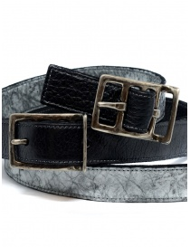 Carol Christian Poell cintura doppia nera grigia cinture acquista online