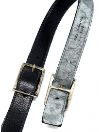 Carol Christian Poell black gray double belt belts price