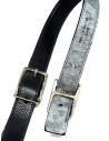 Carol Christian Poell black gray double belt price AF/0982-IN PABER-PTC/010 shop online