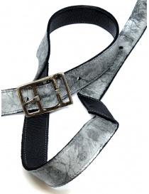 Carol Christian Poell cintura nera argento AF/0981 prezzo