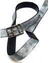 Carol Christian Poell cintura nera argento AF/0981 AF/0981-IN PABER-PTC/010 prezzo