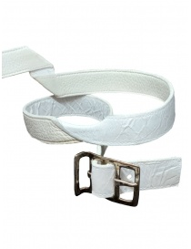 Carol Christian Poell twisted white belt AF/0981-IN-PABER-PTC/01