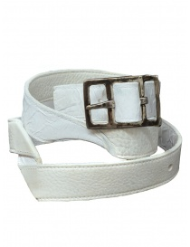 Carol Christian Poell twisted white belt AF/0981-IN-PABER-PTC/01 price