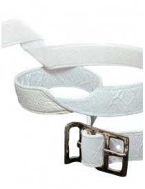 Carol Christian Poell twisted white belt AF/0981-IN-PABER-PTC/01 belts buy online