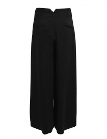European Culture wide black trousers