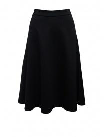 European Culture flared black skirt 2560 2545 0600 order online
