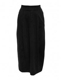 European Culture medium black skirt with waist band online