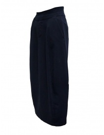 European Culture medium blue skirt with waist band