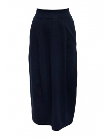 European Culture medium blue skirt with waist band online