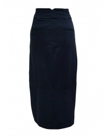 European Culture medium blue skirt with waist band price